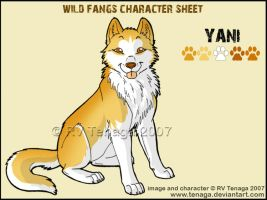 Wild Fangs Sheets_Yani by Tenaga