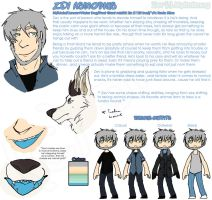 Quick Ref: Zev Asmodious by MythrilMog