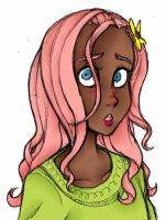 Human Fluttershy by Danerboots
