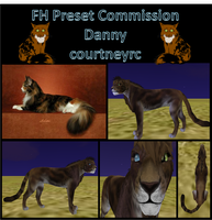 Danny :Preset Commission: by courtneyrc