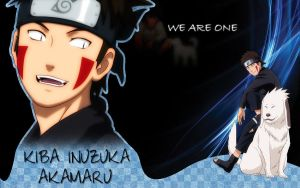 Kiba wallpaper - We are one by HeroAkemi