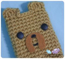 Jake Cell Phone Cozy 2 by moofestgirl