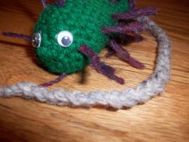 Crocheted Bacterium by taylor-of-the-phunk