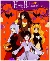 A Rwby Halloween by Lambentworld