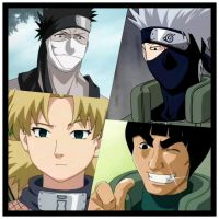 Naruto Collage by SandFan0
