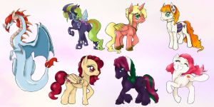 MLP Oc batch 3 by Ari-Uzumaki-Elric