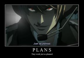 Plans Motivation Poster by FireOps