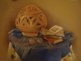 Pastel drawing 1 by NadaAli