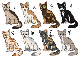 [CLOSED]Feline Adopts 12-3-13 by Lithestep