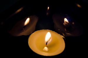 Melting Candle Light by KevinMcNeff