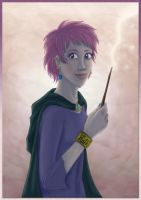 Day 13 - Tonks by Loony-Lucy