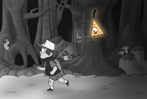 Gravity Falls: Following in the Mindscape by SlightInsanity