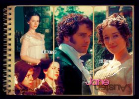 Jane Austen - Emma, P and P by rrswong