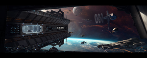 Hades' Star - Space Station by Gabriel-BS