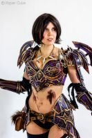 Blademistress Lyss - World of Warcraft by Paper-Cube