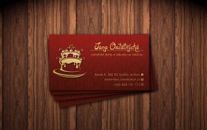 sweetshop business card by Masmen