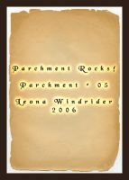 Parchment Rocks Sheet Five by LeonaWindrider