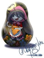 Adventure time. Marceline's matrioshka by WarNick