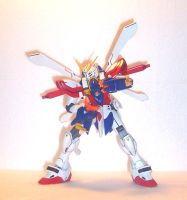 MG God Gundam Front by HDorsettcase