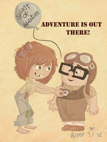 Adventure Is Out There! -Contest by tribute13