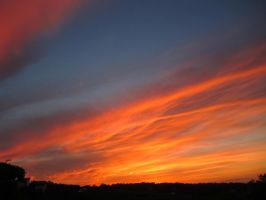 Fiery sky. Part one. by Polunoch