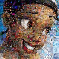 Princess Tiana Mosaic by Cornejo-Sanchez