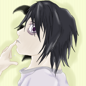Ryuzaki Lawliet (death note) by Emilyh148
