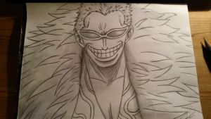 Donquixote Doflamingo by manoartist1996