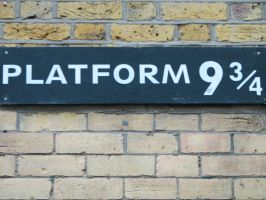 Platform 9 and Three Quarters by LithiumStock