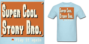 Mario Super Cool Story Bro Shirt by Enlightenup23