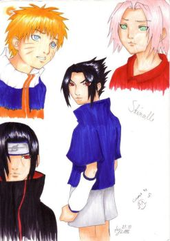 .:Naruto:. Collaboration by sushizume