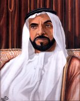 H.H.shaikh Zayed bin Sultan by sagas