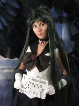 Sailor Pluto Fansign 0022 by foux86