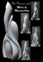 Marble work by manuroartis