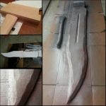 Progress picture: Pyramid Head's sword by OshleyCosplay