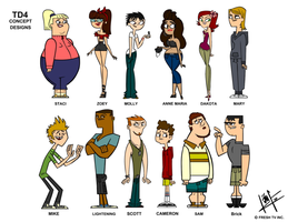Total Drama Reloaded Real Eyes by kovacs1717