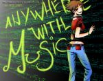Anywhere with music 2 by RammsteirNails