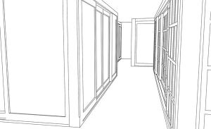 Vector trace - hallway by hatirrisworldproject