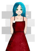 red dress...Speedpaint! by the-real-Nyan