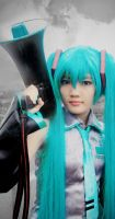 Love is War - Hatsune Miku 2 by nyaomeimei