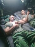 Musclemorphed Military Hunks3 by free42dream