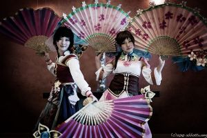 wu qiao sisters by abbottw