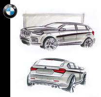 BMW markers by MentosDesign