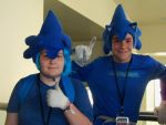 Sonic and Sonic at SacAnime :Aug 2013: by shadica225