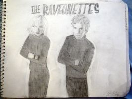 The Raveonettes by porcupiny