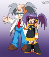 Joke: Dr.Wily finally built his own daughter by Shoutaro-Saito