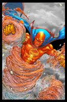 Red Tornado by psychoheat