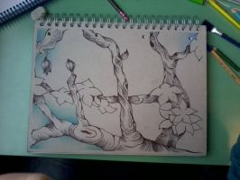 Wip cherry tree by chiccazerneri