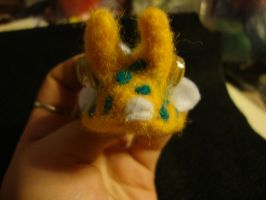 felted cow fish front view by the-muffin-lord
