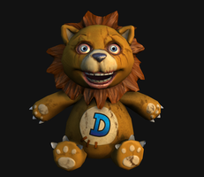 Digby the Lion by lottsnott